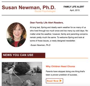 SusanNewmanPhd_Newsletter